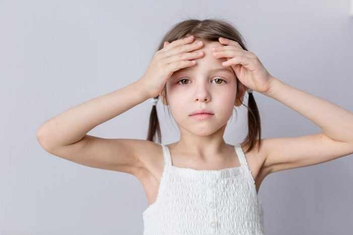 ребенок заболевает физически