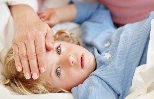 Температура при ангине у ребенка