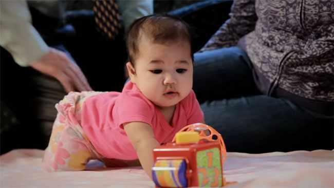 Четырехмесячный ребенок. Фото1