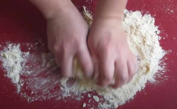Вымешивание руками