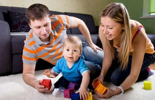 Родители с одним ребенком