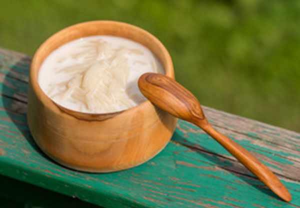 Готовая вермишель в молоке