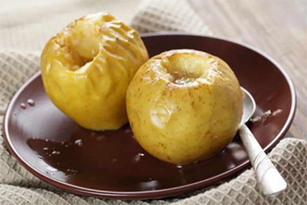 Печенные яблоки