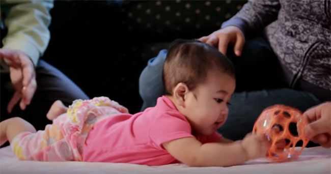 Четырехмесячный ребенок. Фото3