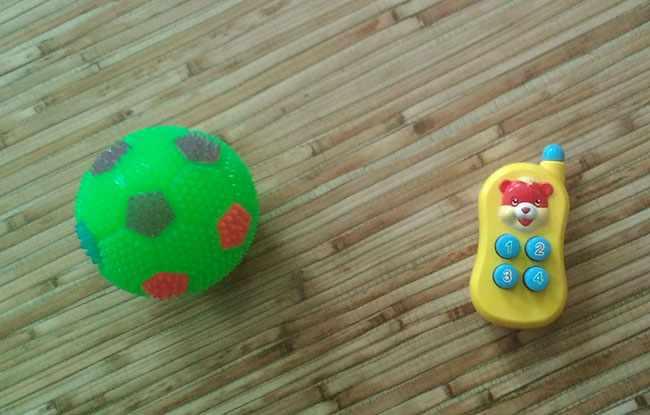 Мячик и телефончи