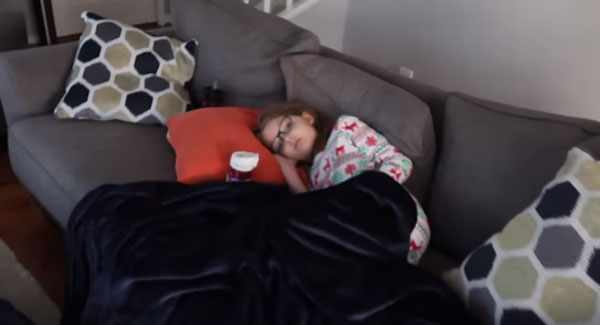 Постельный режим во время гриппа