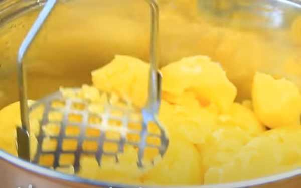 Разминание картошки