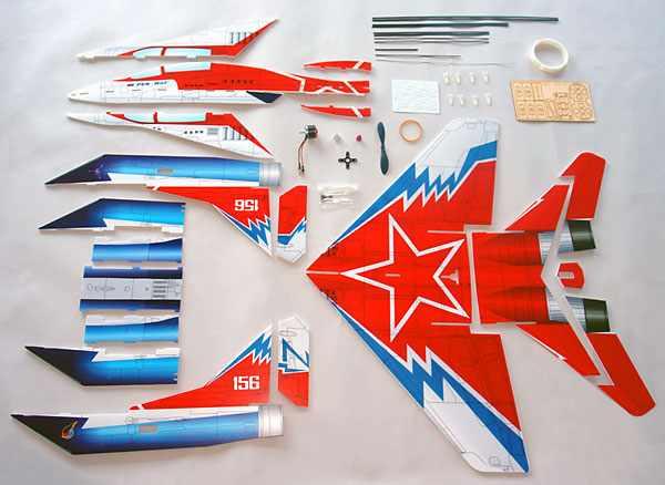 Модельки самолетов