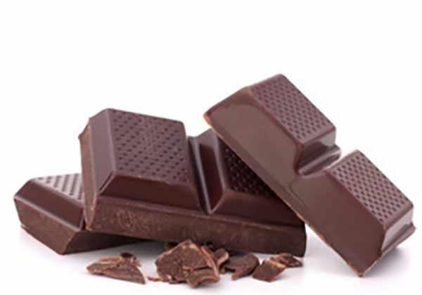 Кусочки шоколада