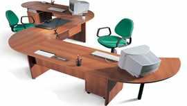 Изогнутый письменный стол