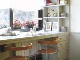 Столешница-подоконник у стола