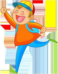 Мальчик бежит