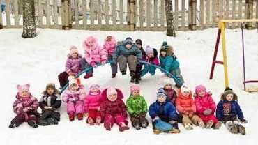 Игры на прогулке зимой в детском саду