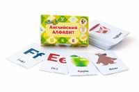 Карточки для обучения английскому алфавиту