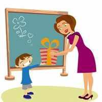 Мульт ученик дарит подарок
