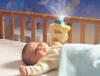 Ночник на кроватке
