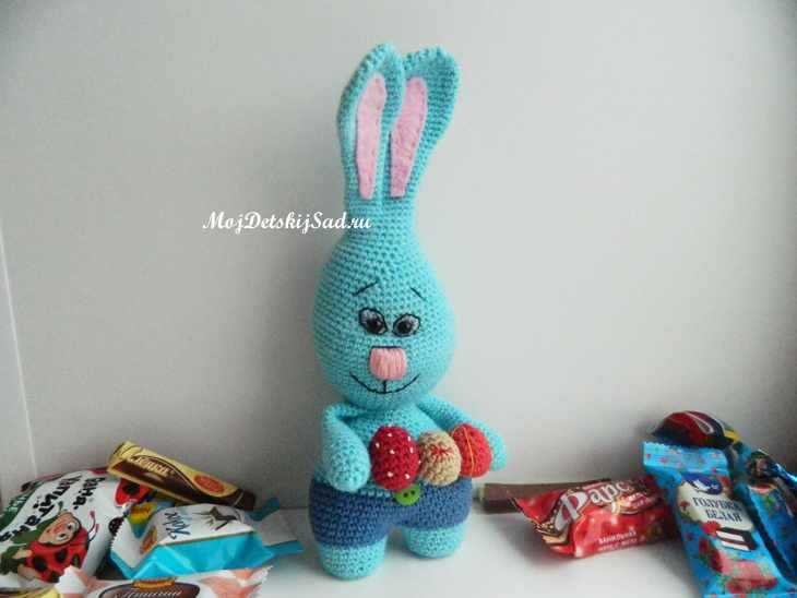 кролик крючком