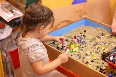Песочная терапия для детей в детском саду