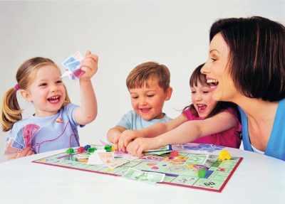 Игры с воспитателем