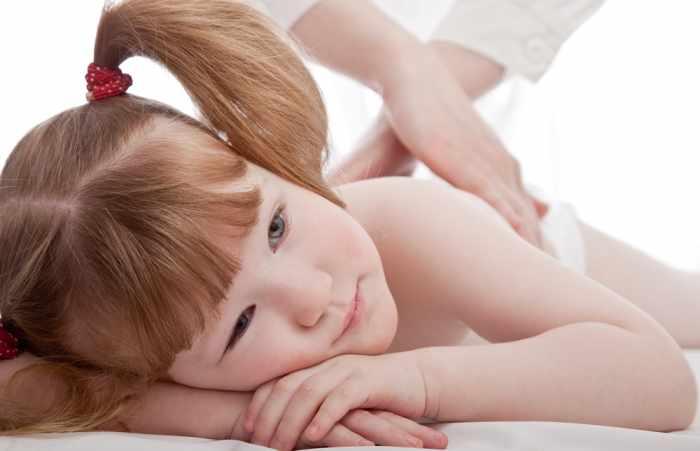 Массаж для старших детей