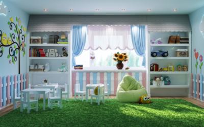 Интерьер частного детского сада