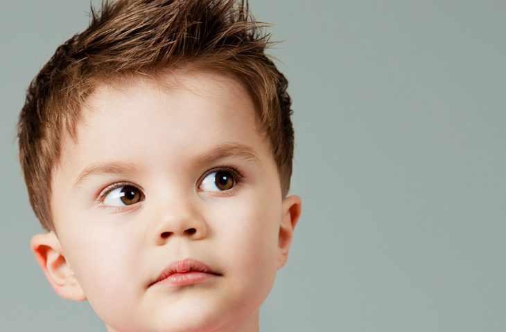 Прическа у маленького мальчика