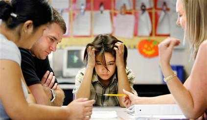 Родителей вызвали в школу