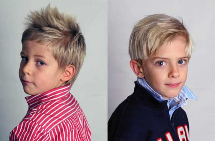 Два мальчика блондина