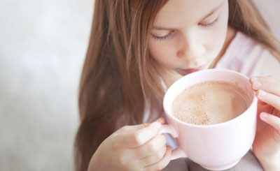 Когда можно ребенку давать кофе
