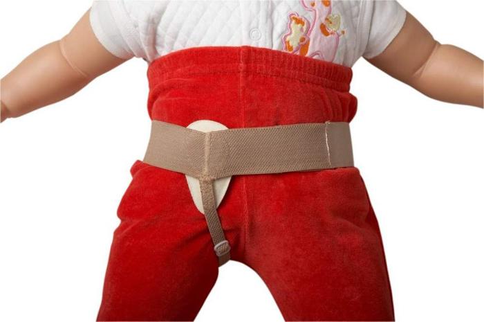 Паховый детский грыжевый бандаж