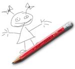 Детски рисунок карандашом