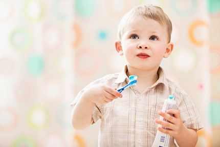 Безопасная зубная паста для детей