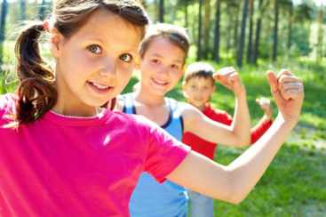 Оздоровительные процедуры для детей