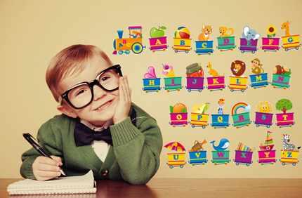 Обучение ребенка английскому алфавиту