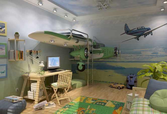 Фотообои в детскую комнату мальчика