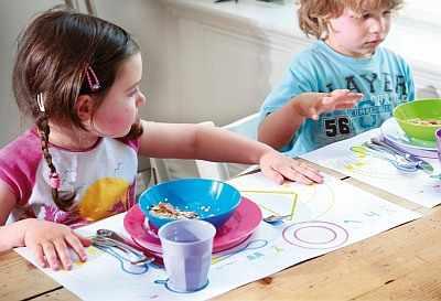 Этикет для малышей в английском частном детском саду