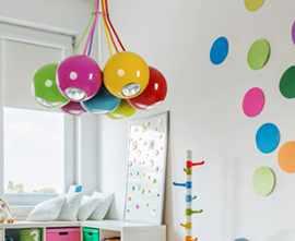 Люстра в детскую комнату для девочки