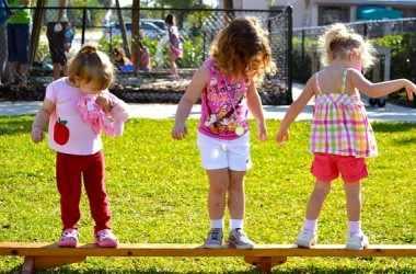 Развитие у детей равновесия и координации