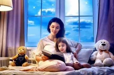 Пять причин читать ребенку на ночь
