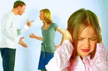 Негативное влияние ссор родителей на детей