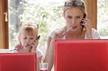 Как совмещать работу и семью: советы родителям