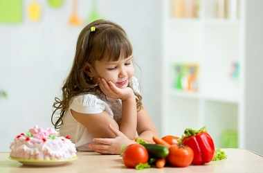 Как изменить привычки питания ребенка
