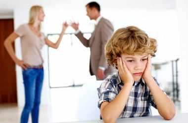 Конфликты супругов в присутствии детей